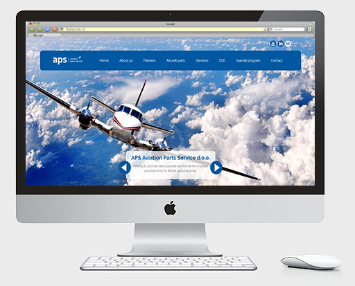 Web dizajn Beograd | Studio 77 + | Aps aviation